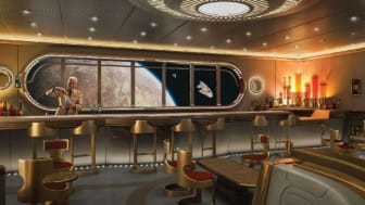 The Star Wars: Hyperspace Lounge will feature onboard the Disney Wish