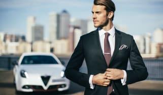 Hawes & Curtis Alfa Romeo suit