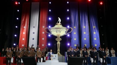 The opening ceremony for the 43rd Ryder Cup at Whistling Straits
