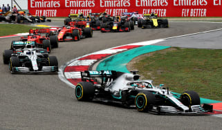 Mercedes driver Lewis Hamilton won the 2019 F1 Chinese Grand Prix in Shanghai