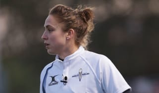 In March 2016 Sara Cox became the first professional female rugby referee