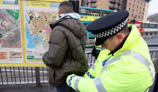 Stop and search
