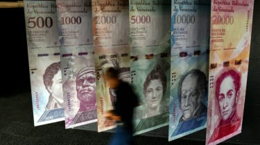 Venezuela's national currency, the Bolivar, has collapsed over the past 12 months