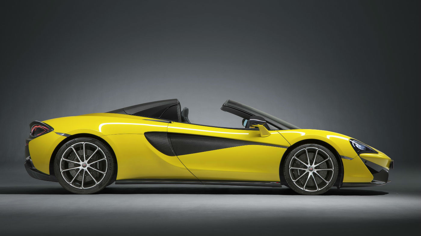 Mclaren Lifts Lid On Its New 570s Spider The Week Uk
