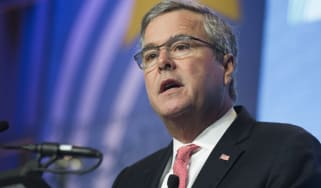 Former Florida Republican Governor Jeb Bush