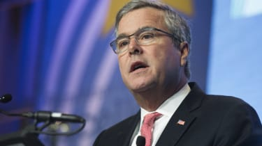 Former Florida Republican Governor Jeb Bush