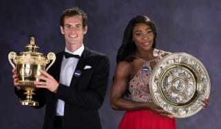 Andy Murray and Serena Williams won the Wimbledon singles titles in 2016