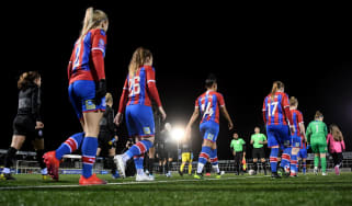 Crystal Palace and Brighton and Hove Albion played each other in the Women's FA Cup