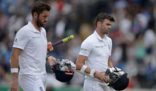 James Anderson and Liam Plunkett