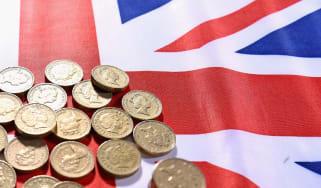 Union Flag pound coins