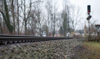 Railway red light