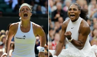 2018 Wimbledon women's final Angelique Kerber vs. Serena Williams