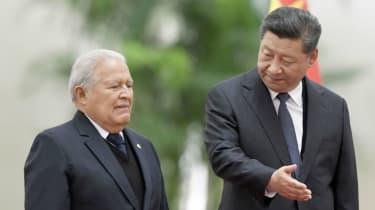 Sanchez Ceren, xi Jinping, China, El Salvador