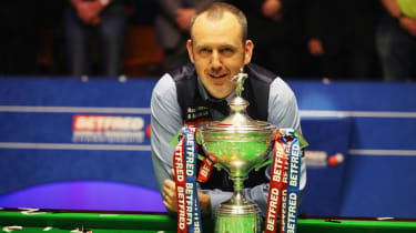 Mark Williams won the 2018 World Snooker Championship at the Crucible Theatre in Sheffield