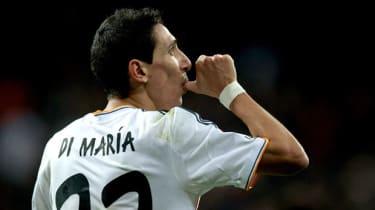 Real Madrid's Angel Di Maria