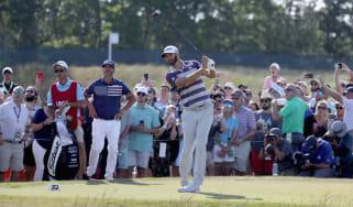 Dustin Johnson 2018 US Open golf major