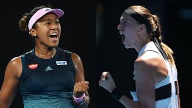 Australian Open 2019 women's singles finalists Naomi Osaka and Petra Kvitova
