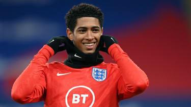 England midfielder Jude Bellingham