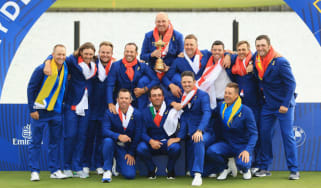 2018 Ryder Cup Team Europe Thomas Bjorn