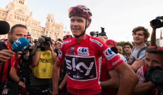 Chris Froome failed drugs test Vuelta a Espana