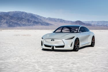 Representing the next step in INFINITI design, the Q Inspiration Concept features clear and concise lines with dynamic and confident proportions. It is the first manifestation of INFINITI's n