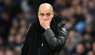 Manchester City head coach Pep Guardiola