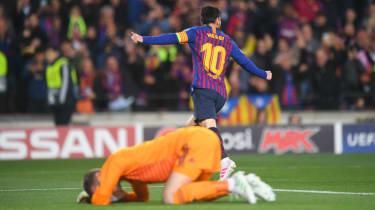 David de Gea's howler gifted Lionel Messi his second goal in Barcelona's win against Man Utd