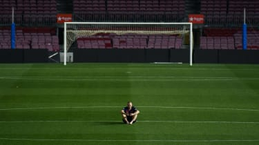 Andres Iniesta Barcelona final match pictures