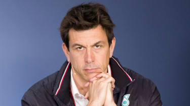 Toto Wolff has led Mercedes to five consecutive double world championships