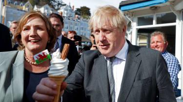 Boris Johnson in Wales