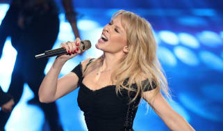 Kylie Minogue performing in Cologne, Germany