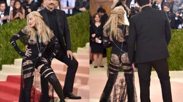 Riccardo Tisc and Madonna
