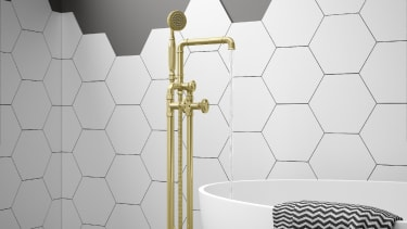Industrial-style showers and taps - 2021 bathroom design trends