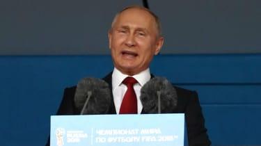 Russian President Vladimir Putin 2018 World Cup