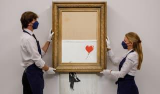 Banksy's Love In The Bin artwork