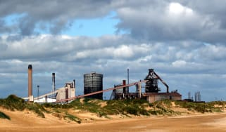 Areas in the north east of England, such as around the Redcar steelworks, voted overwhelmingly for Brexit