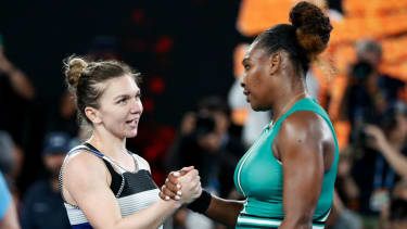 Simona Halep lost against Serena Williams at the 2019 Australian Open in January