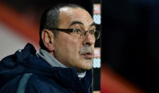 Chelsea boss Maurizio Sarri is under pressure after a number of defeats