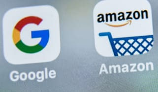 Google and Amazon apps