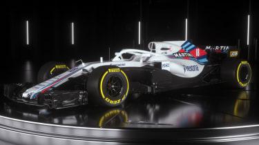 Williams Martini Racing FW41 car launch F1