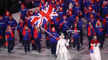 Lizzy Yarnold Team GB PyeongChang 2018 Winter Olympics