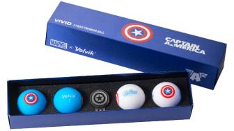 Marvel Volvik golf balls