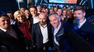 BT Sport team: Humphrey, Lineker, Gerrard