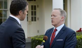 Sean Spicer, US press secretary