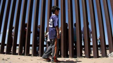 migrant child US border