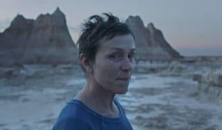 Nomadland stars Frances McDormand