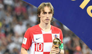 Croatia and Real Madrid star Luka Modric won the 2018 World Cup Golden Ball award