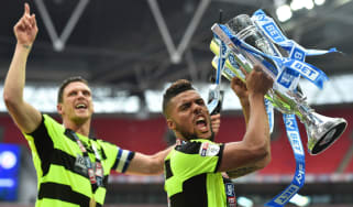 Huddersfield Town play off final promotion