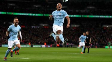 Carabao Cup Arsenal 0 Manchester City 3 Vincent Kompany goal