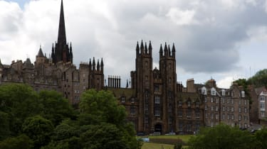 The University of Edinburgh taken on 22 June 2014.